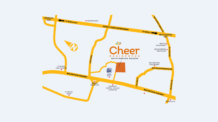 Cheer_VicinityMap