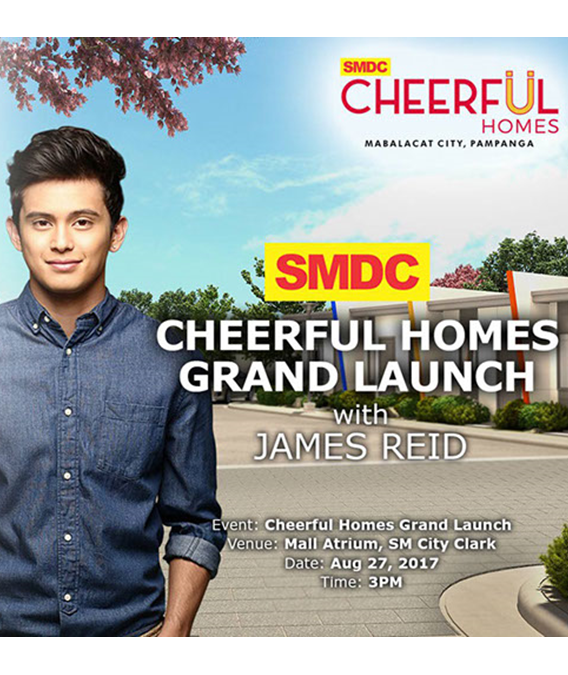Cheerful Homes Grand Launch w/ James Reid