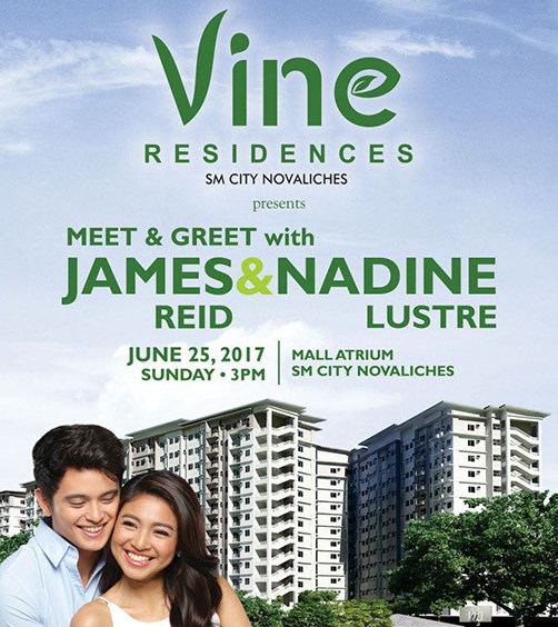 Vine Residences – Meet & Greet with James and Nadine