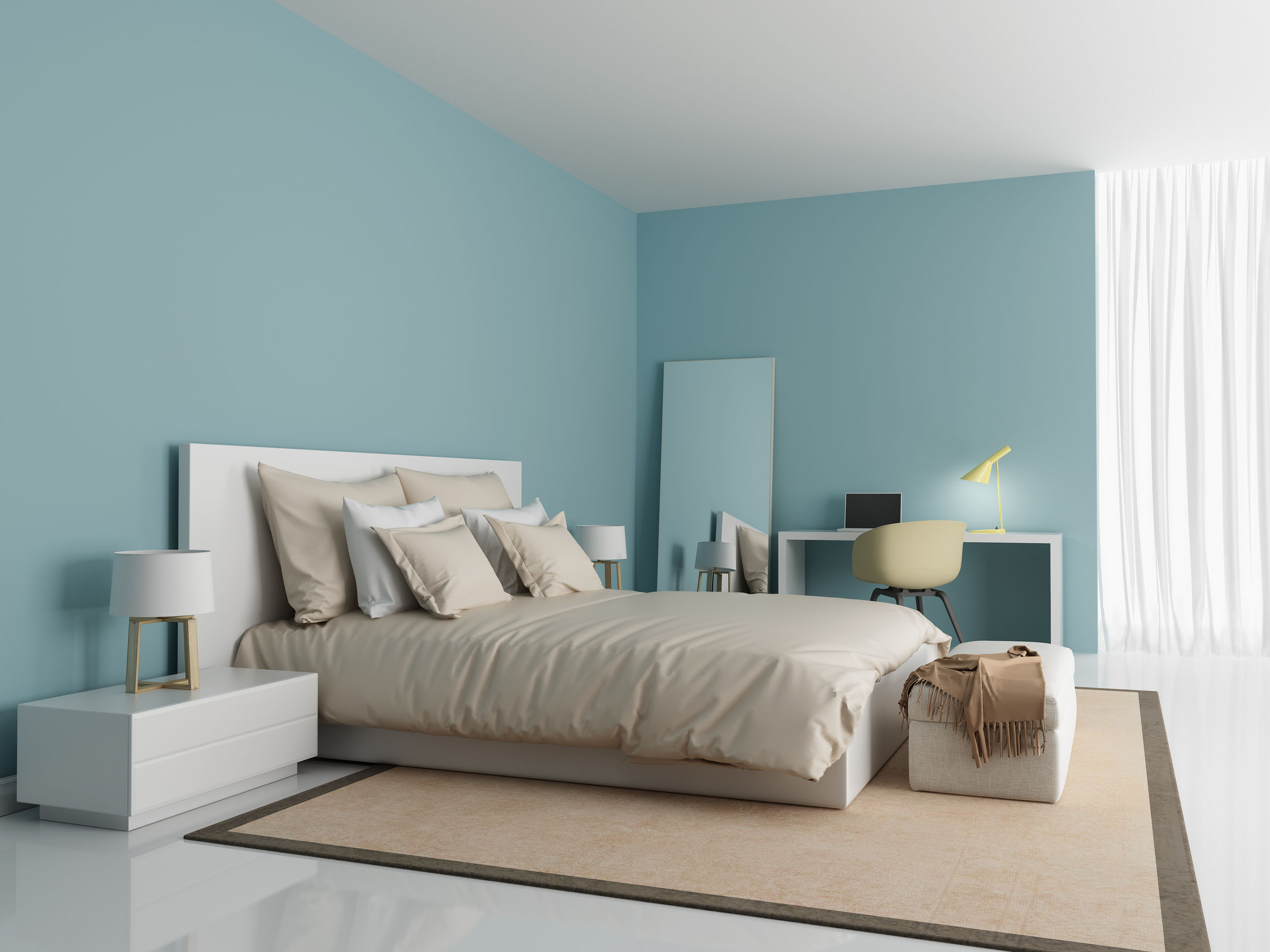 Recolor To Relax! Here Are 5 Soothing Colors You Can Apply To Your Bedroom