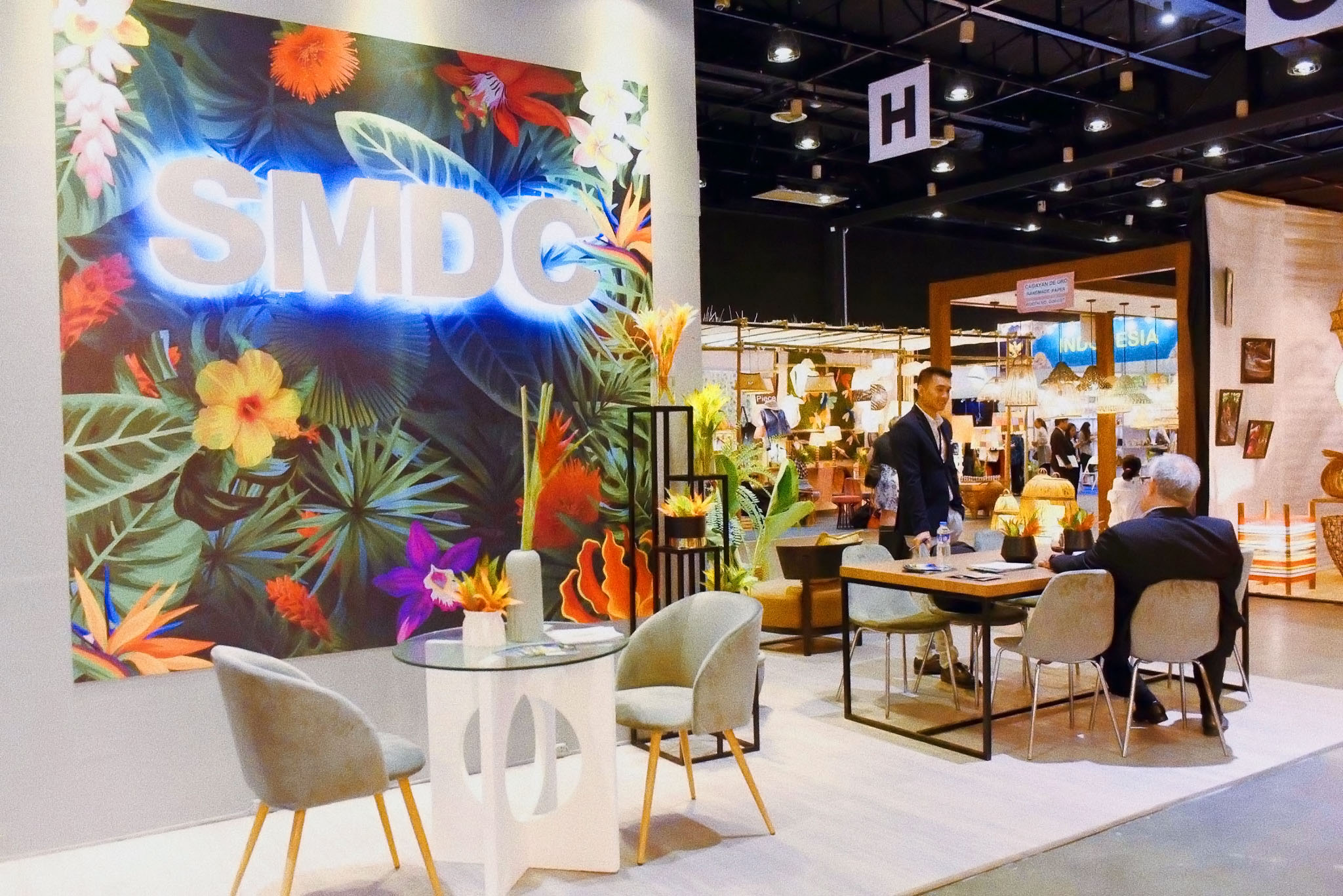 SMDC collaborates with DTI-CITEM to create stylized business lounges at premier lifestyle event