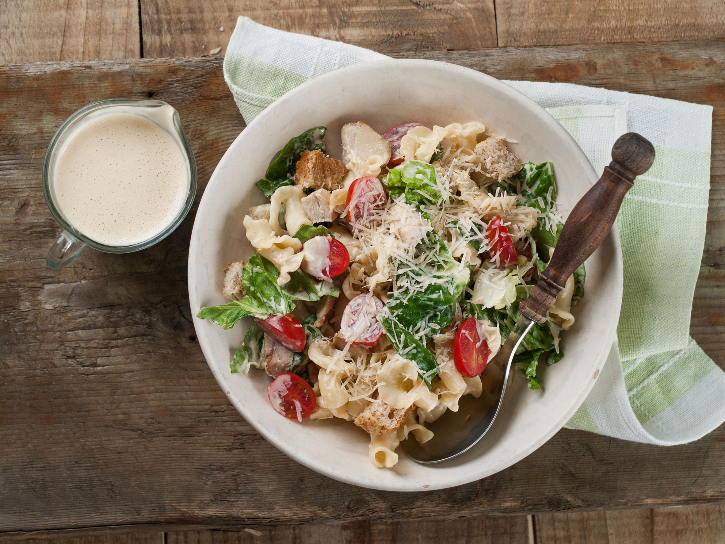 cheese plate dressing salad