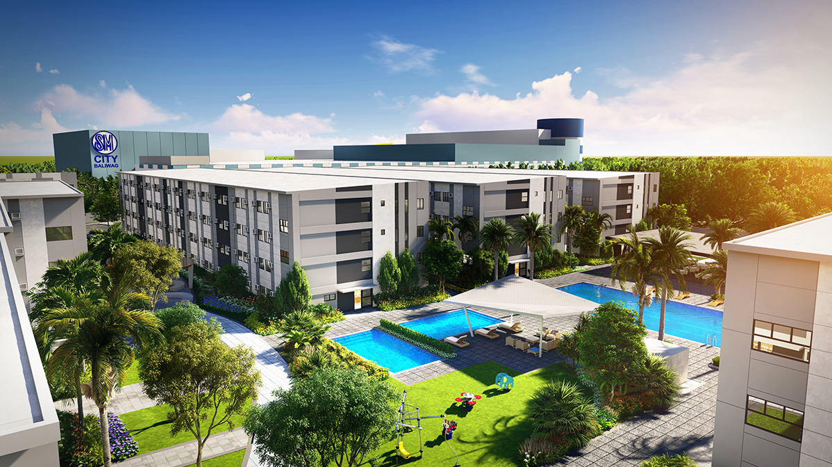 SMDC Joy Residences: A complete garden community right beside a mall